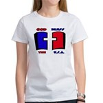 God Bless the USA Women's T-Shirt