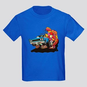 Muscle Car Kids Dark T-Shirt