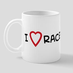 I Love Racewalking Mug