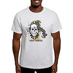 Ghost Hunter Skull Graphity Light T-Shirt