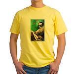 Calvin as Gadfly Yellow T-Shirt