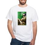 Calvin as Gadfly White T-Shirt