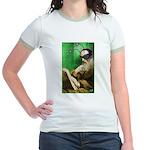 Calvin as Gadfly Jr. Ringer T-Shirt
