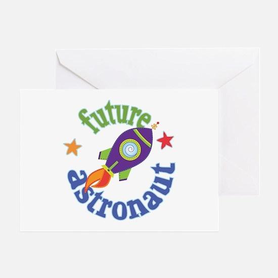 Future Astronaut Greeting Card