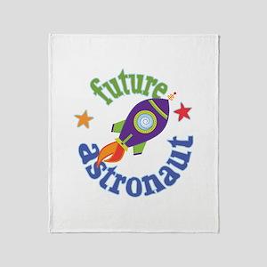 Future Astronaut Throw Blanket