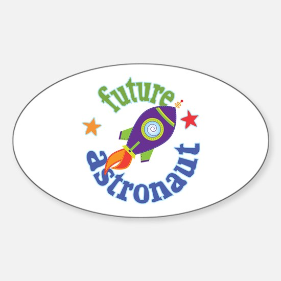 Future Astronaut Sticker (Oval)