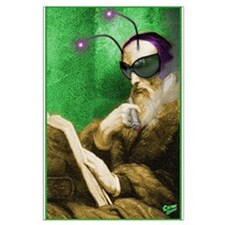 Calvin as Gadfly Large Poster