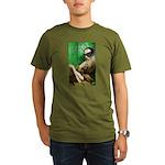 Calvin as Gadfly Organic Men's T-Shirt (dark)