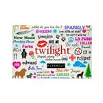 Twilight Memories Rectangle Magnet (100 pack)