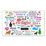 Twilight Memories Sticker (Rectangle 50 pk)