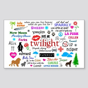 Twilight Memories Sticker (Rectangle)