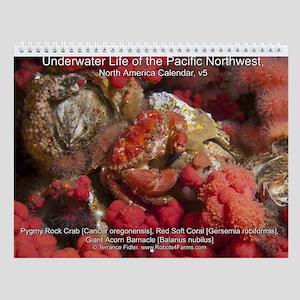 North Pacific Ocean Life 2013 Wall Calendar v5