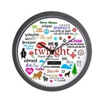 Twilight Memories Wall Clock
