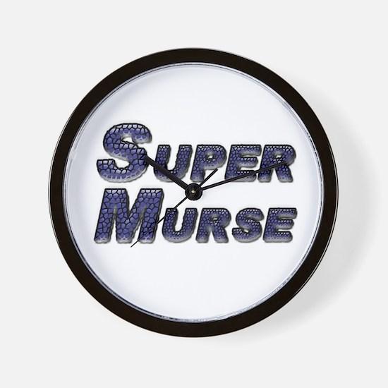 Cute Male nurse Wall Clock