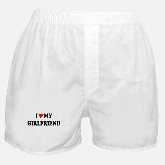 Cute I love you Boxer Shorts