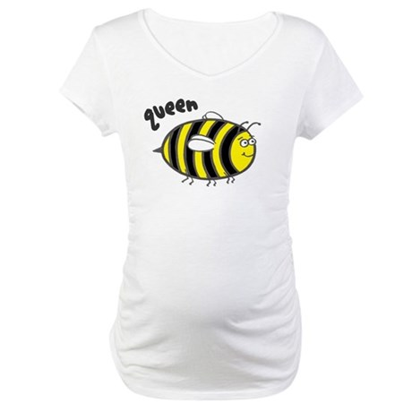 'Queen Bee' Maternity T-Shirt