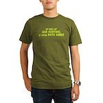 Gun Control Organic Men's T-Shirt (dark)