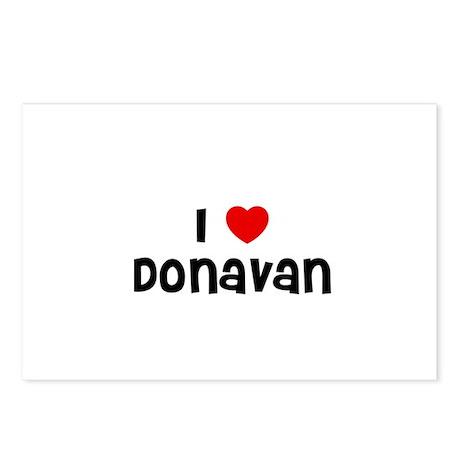 I * Donavan Postcards (Package of 8)