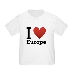 I Love Europe T