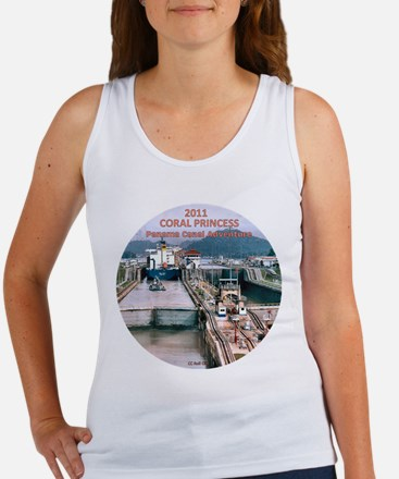Coral Panama Canal 2011 - Women's Tank Top