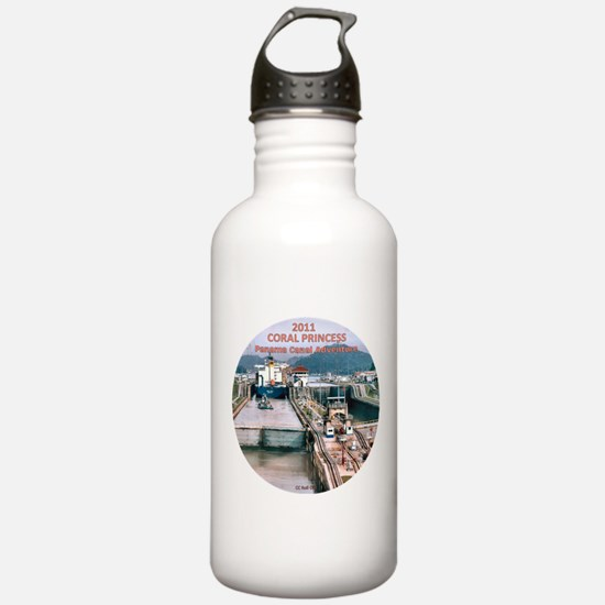 Coral Panama Canal 2011 - Water Bottle