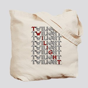 Twilight Text Block by twibaby Tote Bag