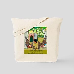 Cannibals at an Elderhostel Tote Bag