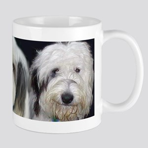 Trio Old English Sheepdogs Mug