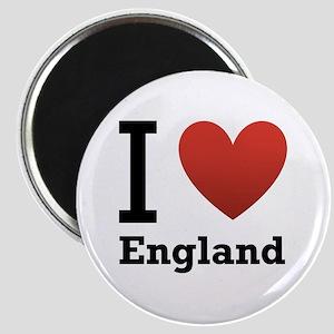 I Love England Magnet