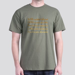 Intl Psalm 23 Dark T-Shirt