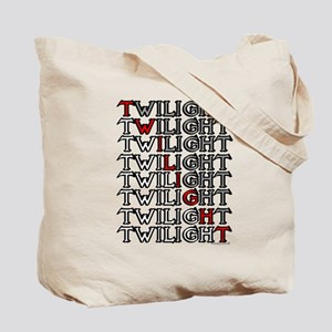 Twilight Cartoon text by twibaby Tote Bag