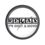 Relax: It's only a movie! Wall Clock