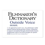 Outside Voice Postcards (Package of 8)