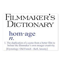 Filmmaker's Dictionary: Homag Postcards (Package o