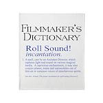 Film Dctnry: Roll Sound! Throw Blanket