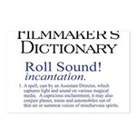 Film Dctnry: Roll Sound! Postcards (Package of 8)