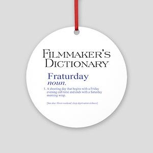 Fraturday Ornament (Round)