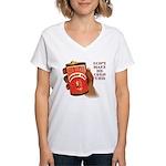 Can 'O Whoop Ass Women's V-Neck T-Shirt