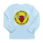 Get Out of my Way! Long Sleeve Infant T-Shirt