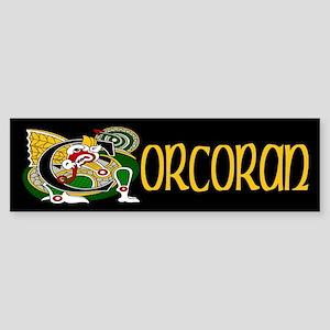 Corcoran Celtic Dragon Sticker (Bumper)