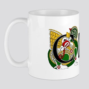 Corcoran Celtic Dragon Mug