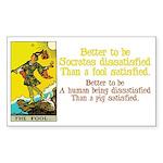 Better Dissatisfied Sticker (Rectangle 10 pk)