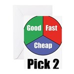 Good, Fast, Cheap Greeting Cards (Pk of 20)