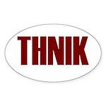 THNIK Sticker (Oval 10 pk)