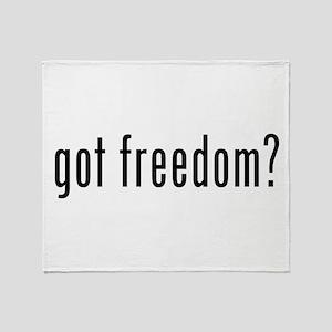 got freedom? Throw Blanket