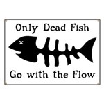 Only Dead Fish Banner