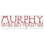 Murphy: Optimist Sticker (Bumper 50 pk)