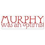 Murphy: Optimist Sticker (Bumper 50 pk)