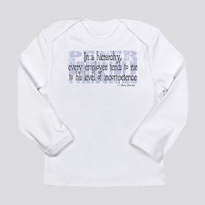 Peter Principle Long Sleeve Infant T-Shirt