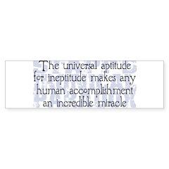 Stapp's Paradox Sticker (Bumper 50 pk)